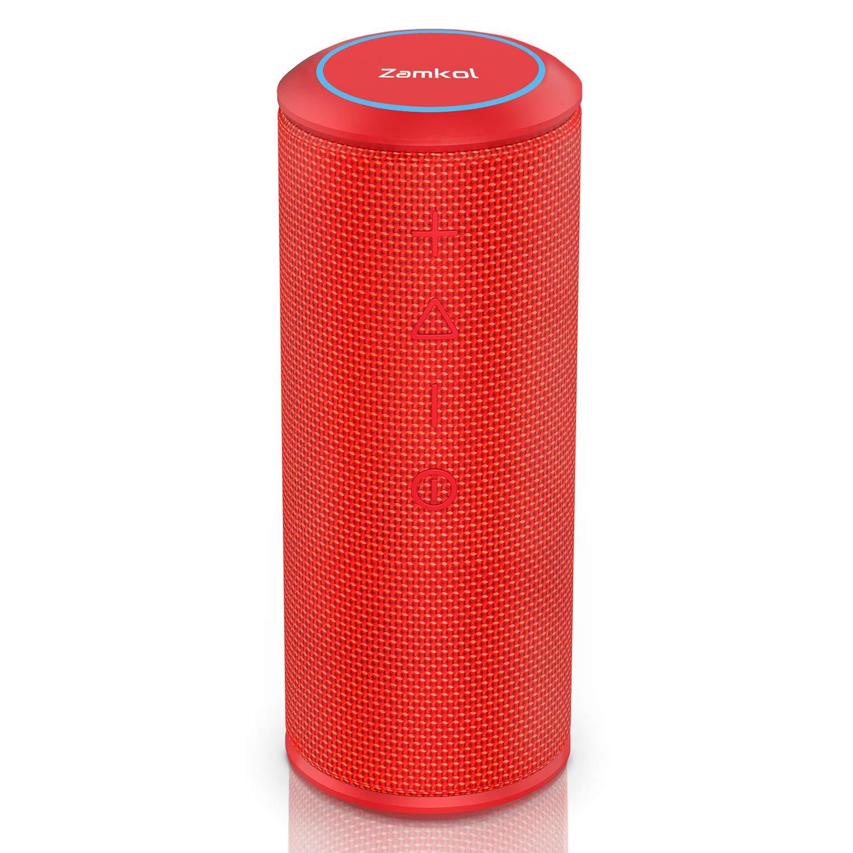 US ZK606 bluetooth speaker Red